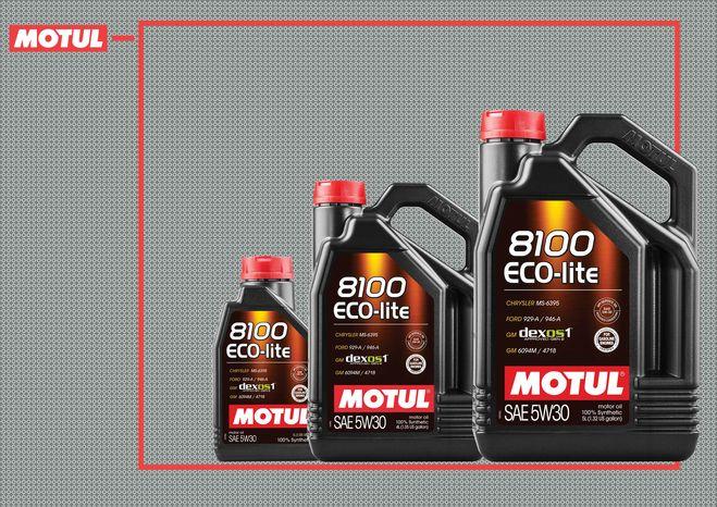 Motul оновлює формулу моторної оливи 8100 ECO-lite 5W30