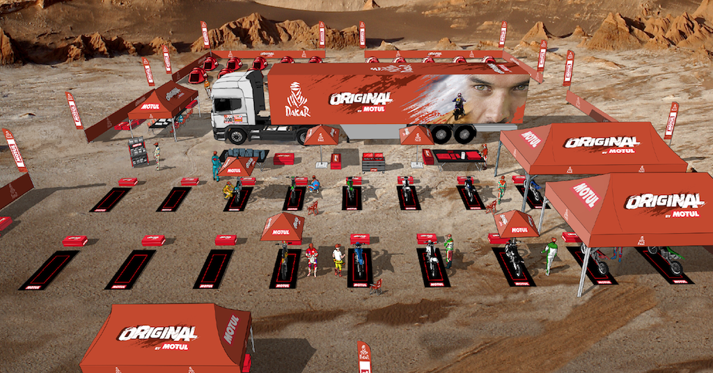 "Dakar 2018: Kategoria ""Original by Motul"""