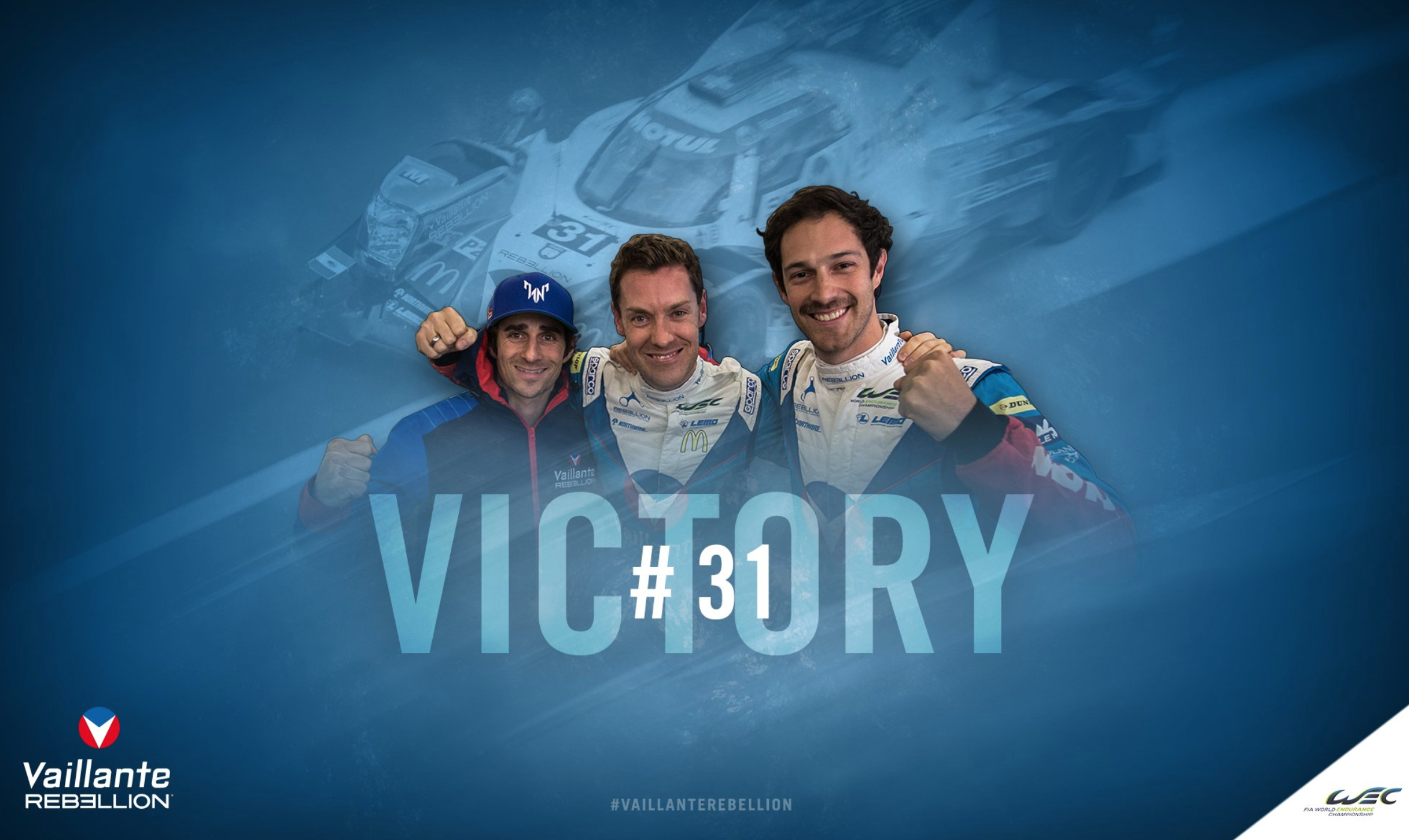 Motul celebrates World Endurance Championship Title with Vaillante Rebellion!