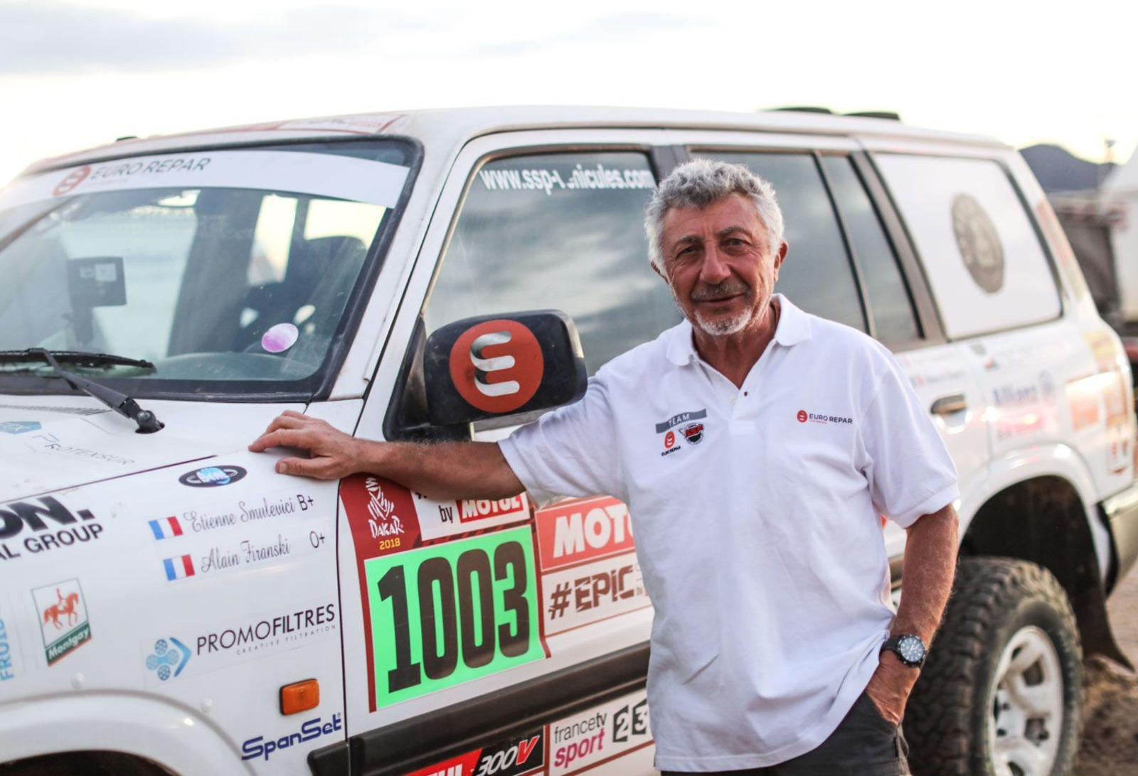 Etienne Smulevici - My Dakar Story