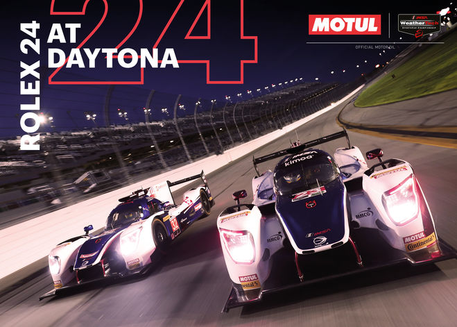 Motul roars into 2018 with IMSA at Daytona 24