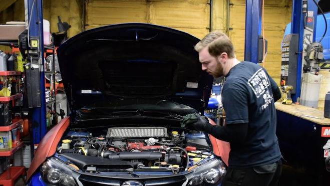How to change your oil on a Subaru WRX