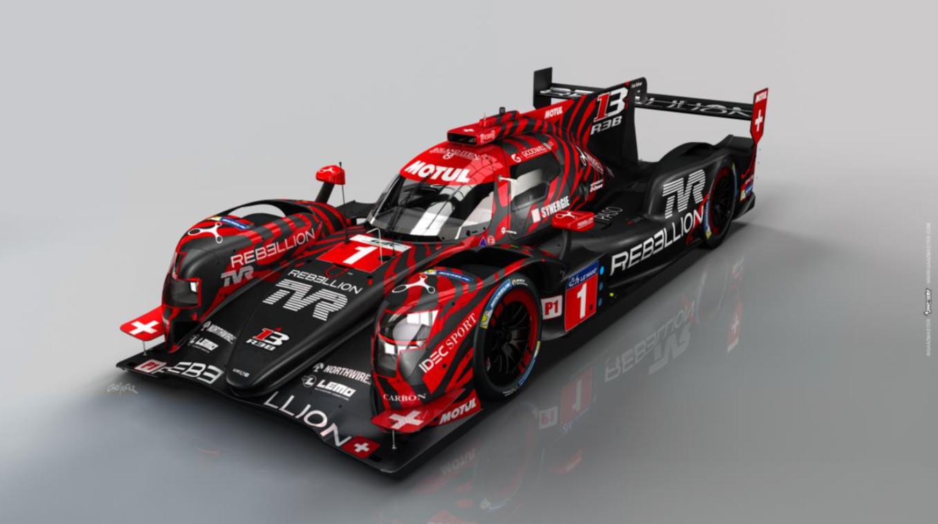 TVR startet Zusammenarbeit mit Motul und Rebellion Racing