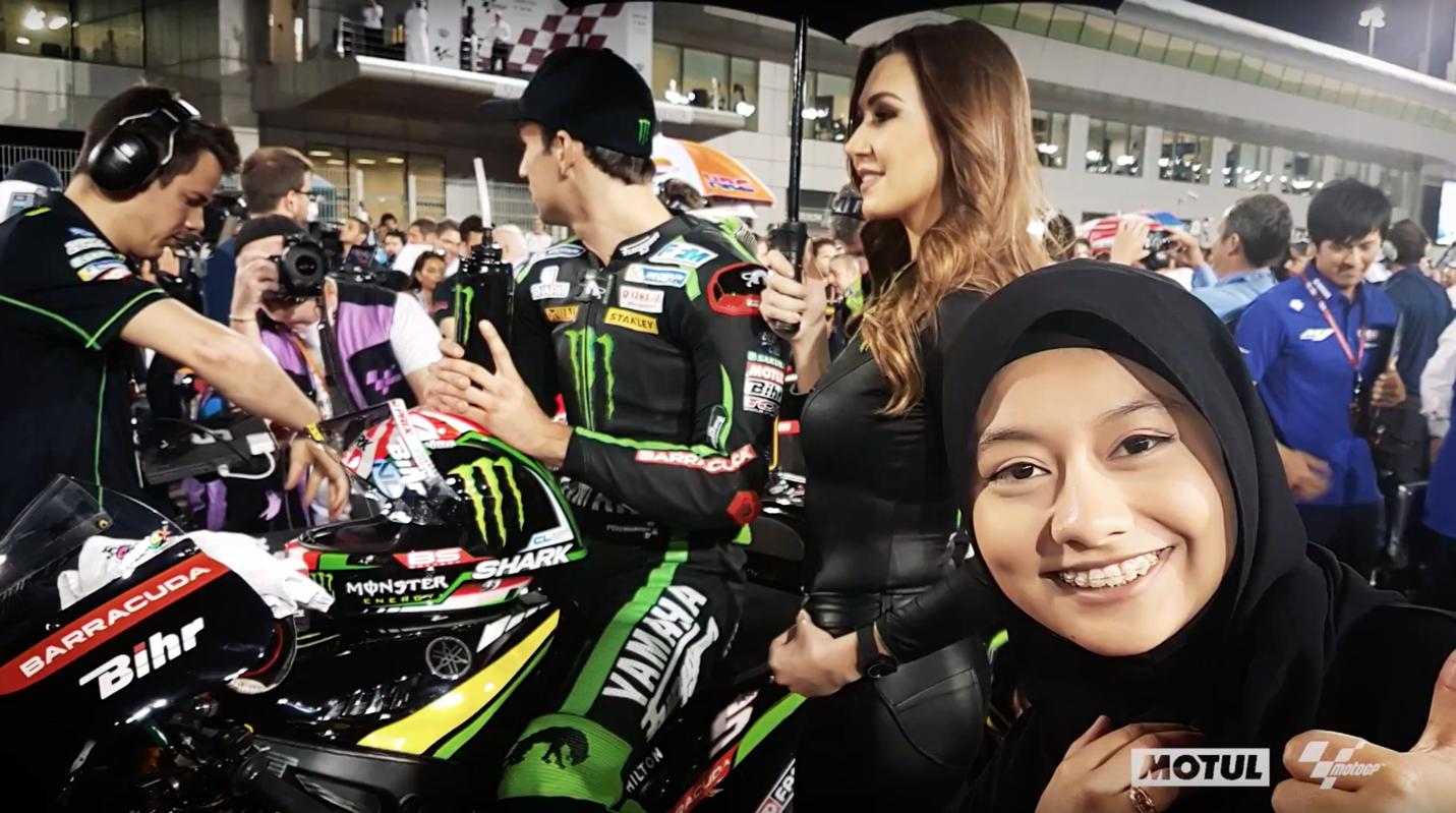 I met my MotoGP hero thanks to Motul