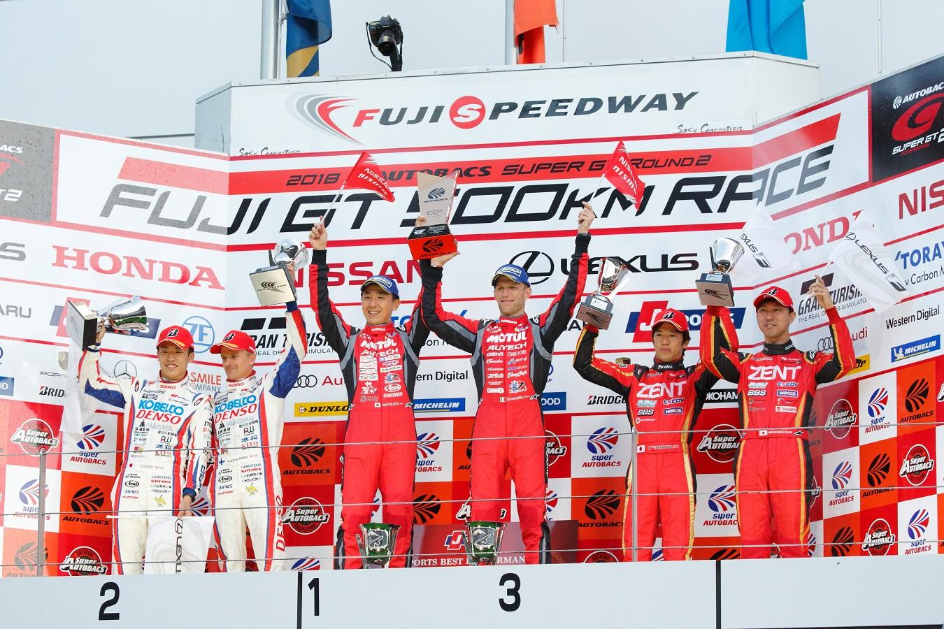 Motul Autech Nismo GT-R wins Fuji Thriller