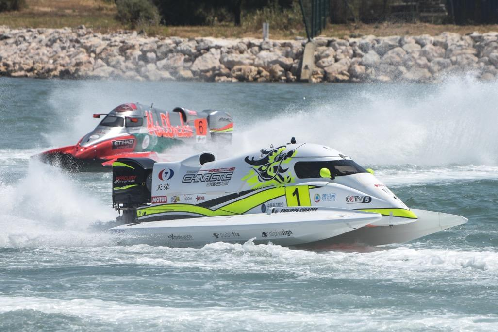 Philippe Dessertenne's mechanical armada roams the powerboat universe