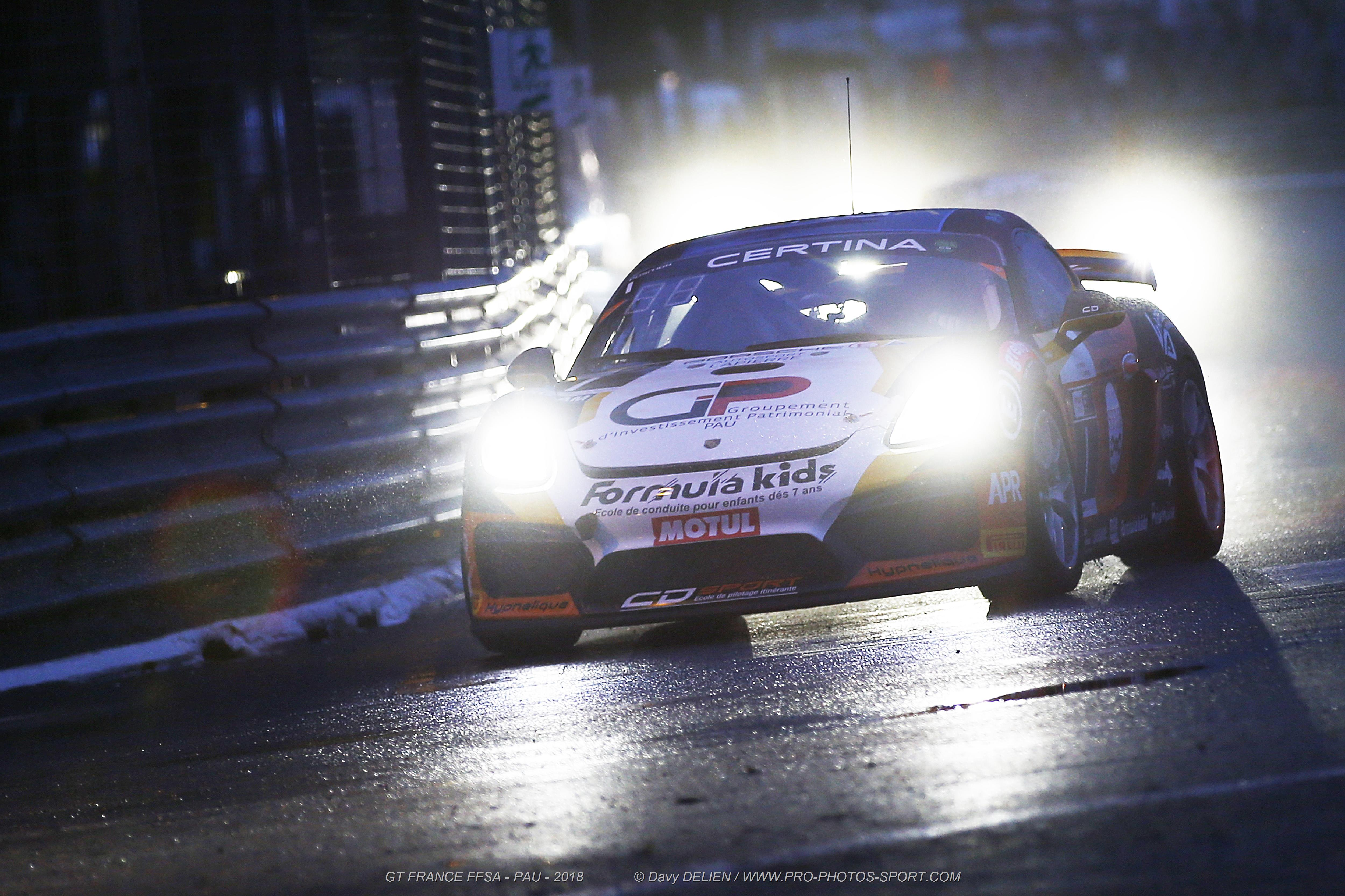 The magic of the Pau Grand Prix by day, by night and in the rain !