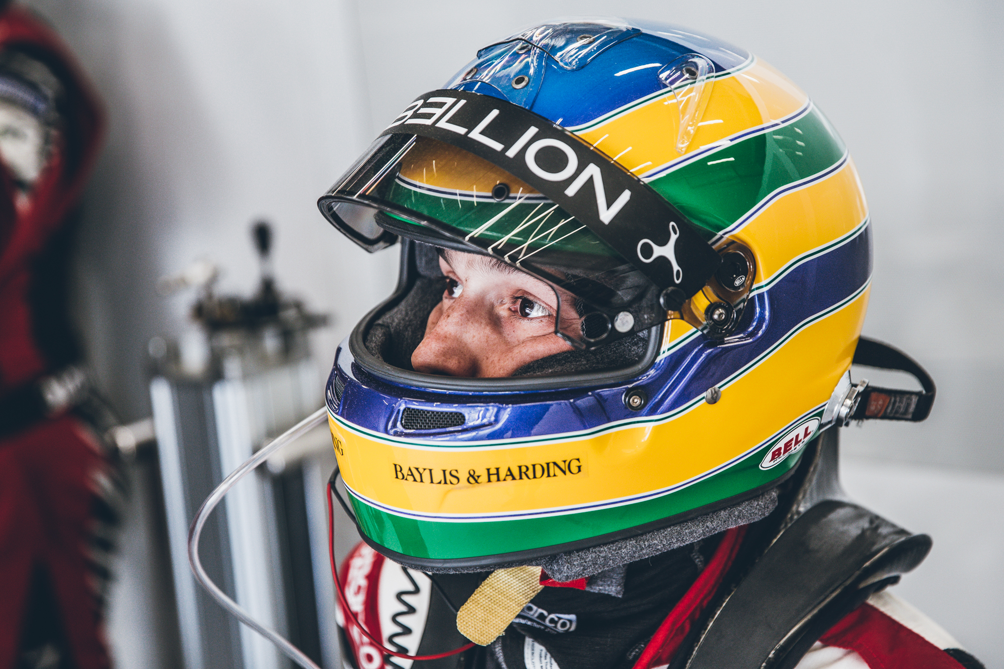 Senna: The more I can drive, the better.