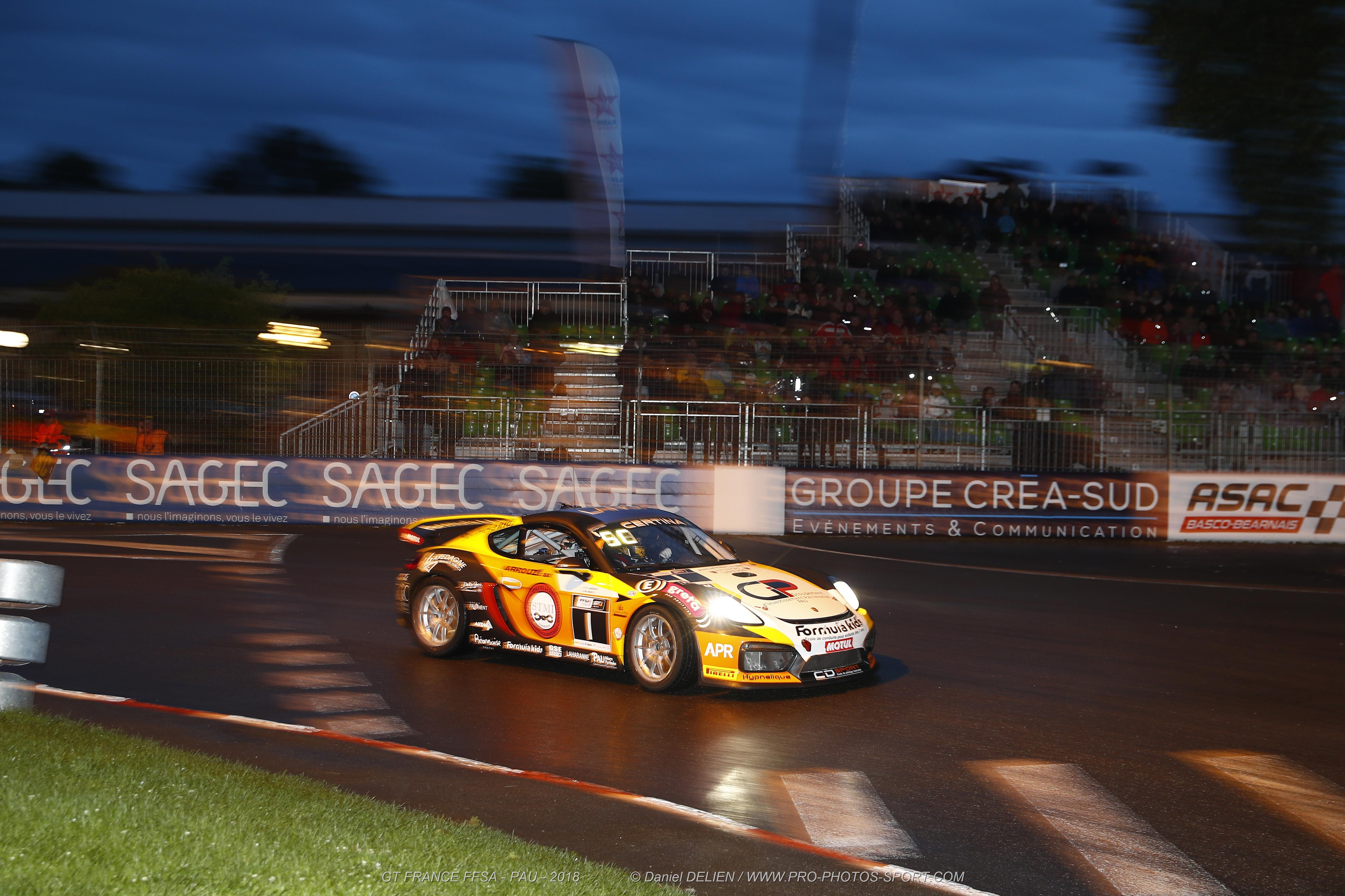 The Pau Grand Prix is one of the jewels among city circuits in motor sport. If the F3s again topped the bill, the GTs left their mark on the public in a thrilling night-time display.