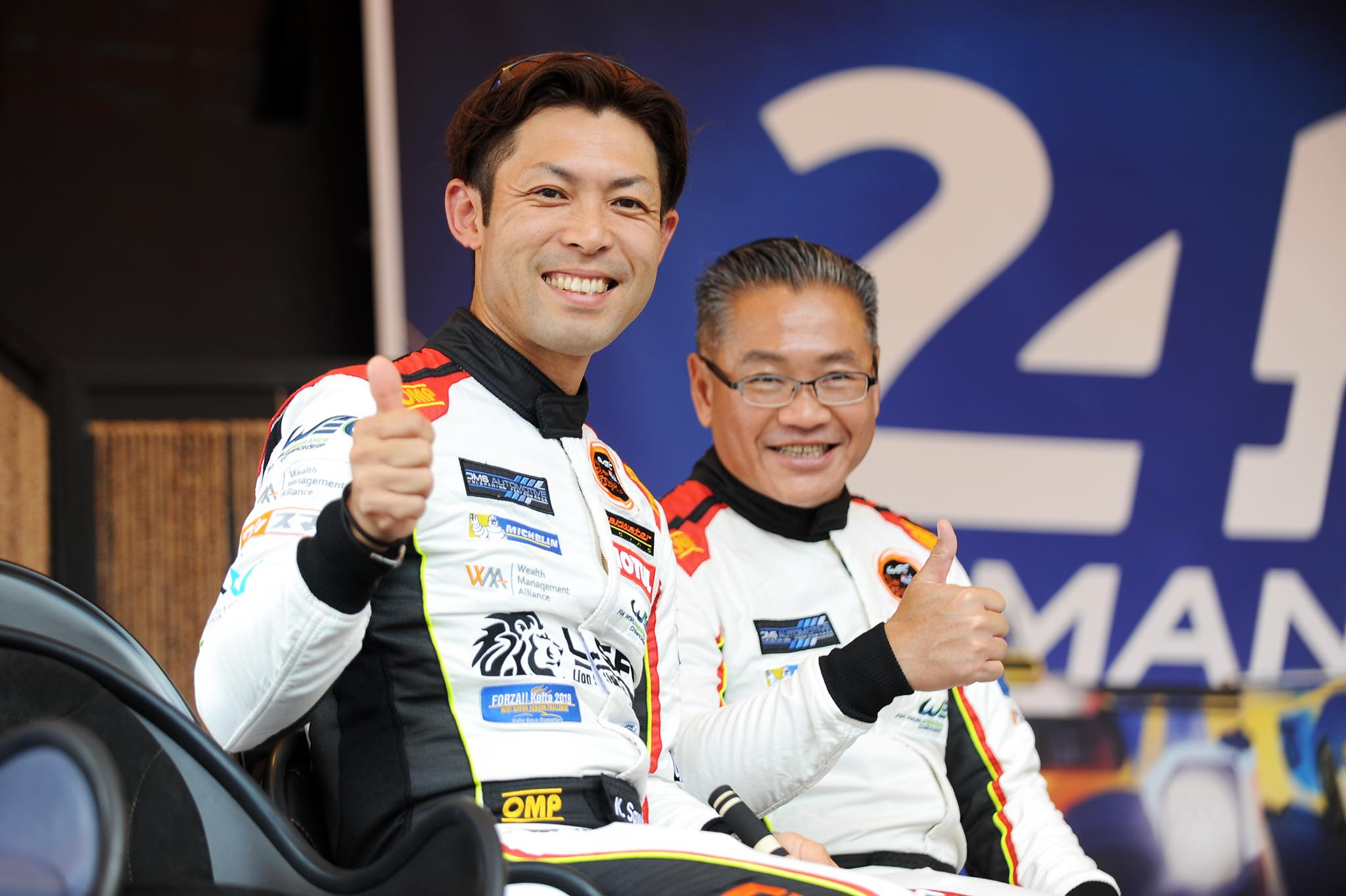 "Weng Sun Mok (Clearwater Racing): ""I fell in love with Le Mans"""