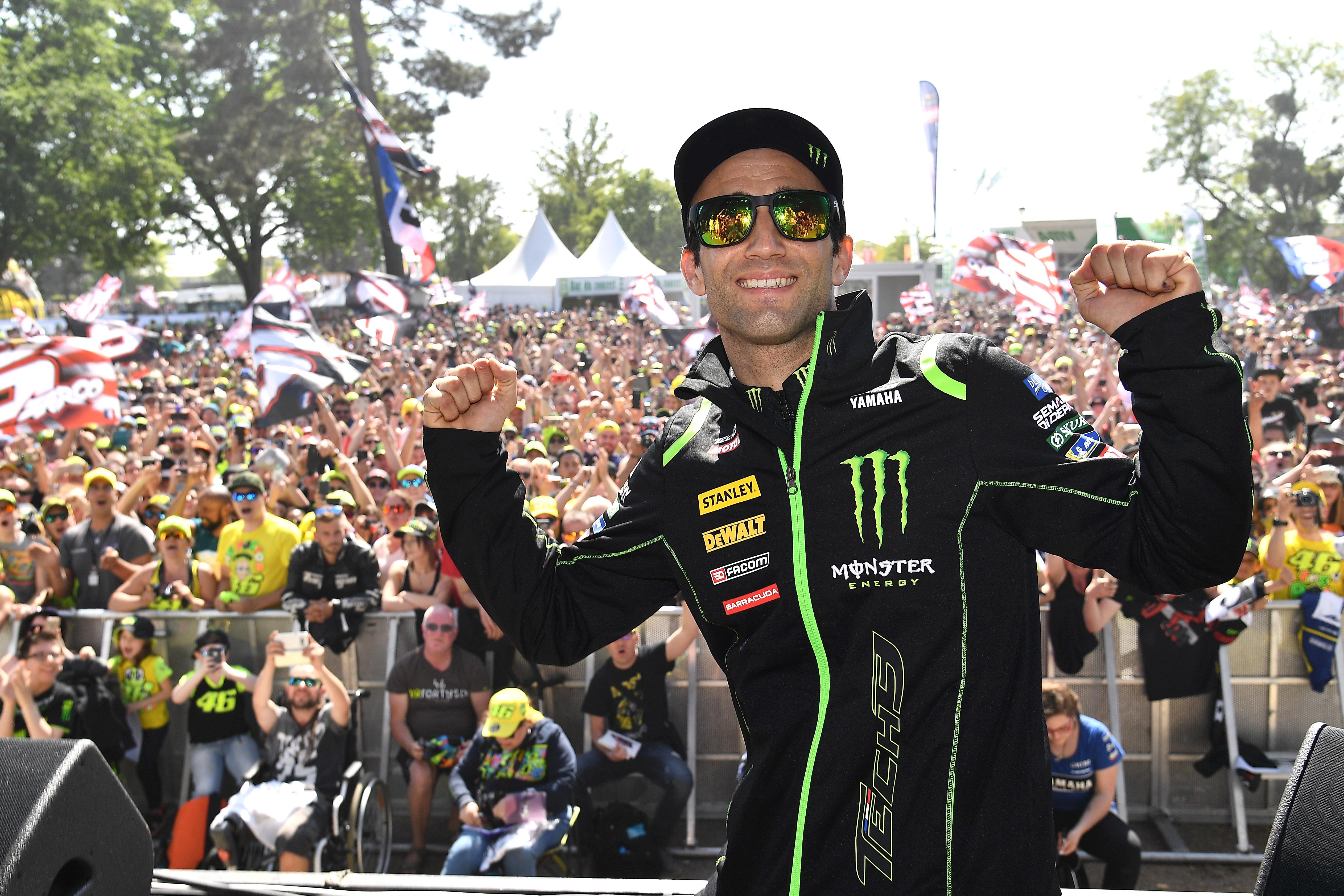 Avec un pilote français en pôle pour la manche française de MotoGP, la Zarcomania était en feu ce week end au Mans