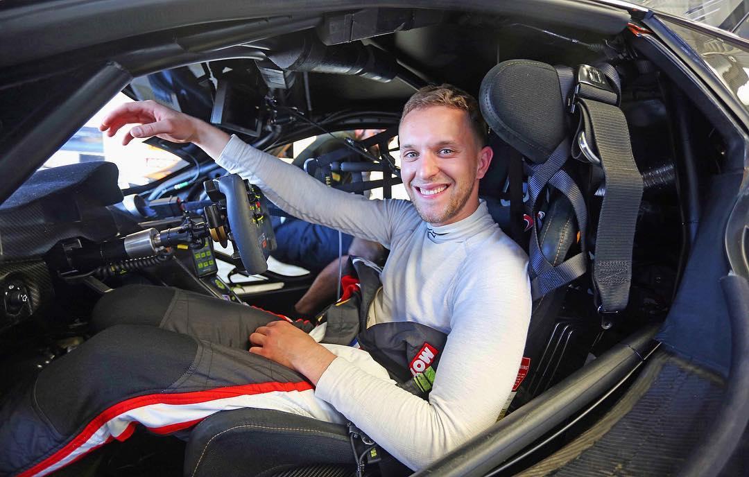 Samedi soir, Côme Ledogar fini sur le podium GT au Paul Ricard, le lendemain il pilotait sa voiture pour les journées tests des 24 Heures du Mans.