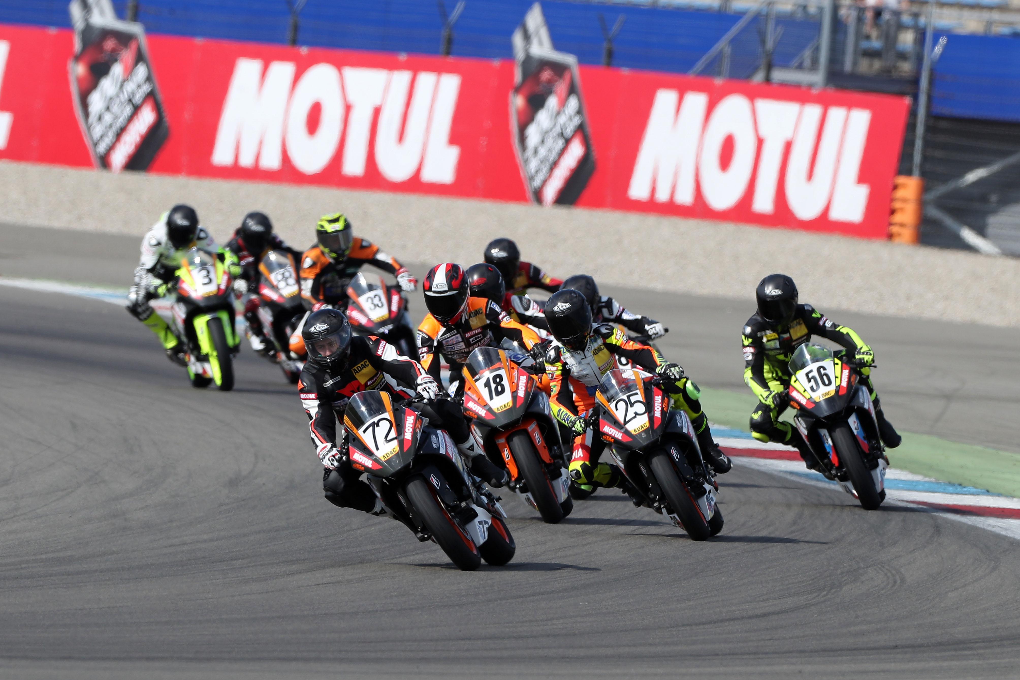 Veranstaltung im Rahmen der MotoGP auf dem Sachsenring