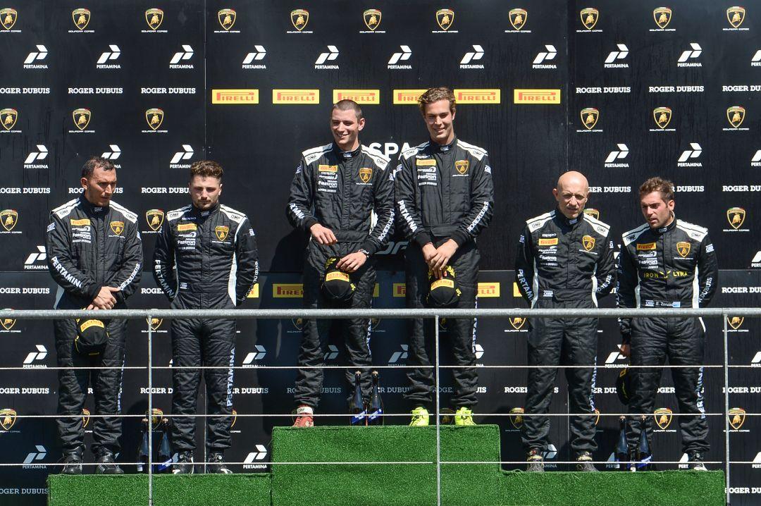 Klassensieg und Podium für Leipert Motorsport in Spa-Francorchamps