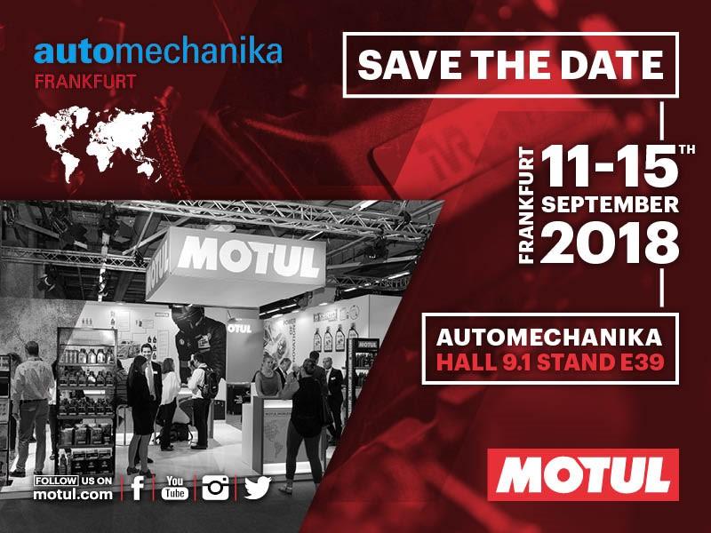 Motul запускает новый Garage Concept и новый продукт линейки Hybrid на Automechanika 2018