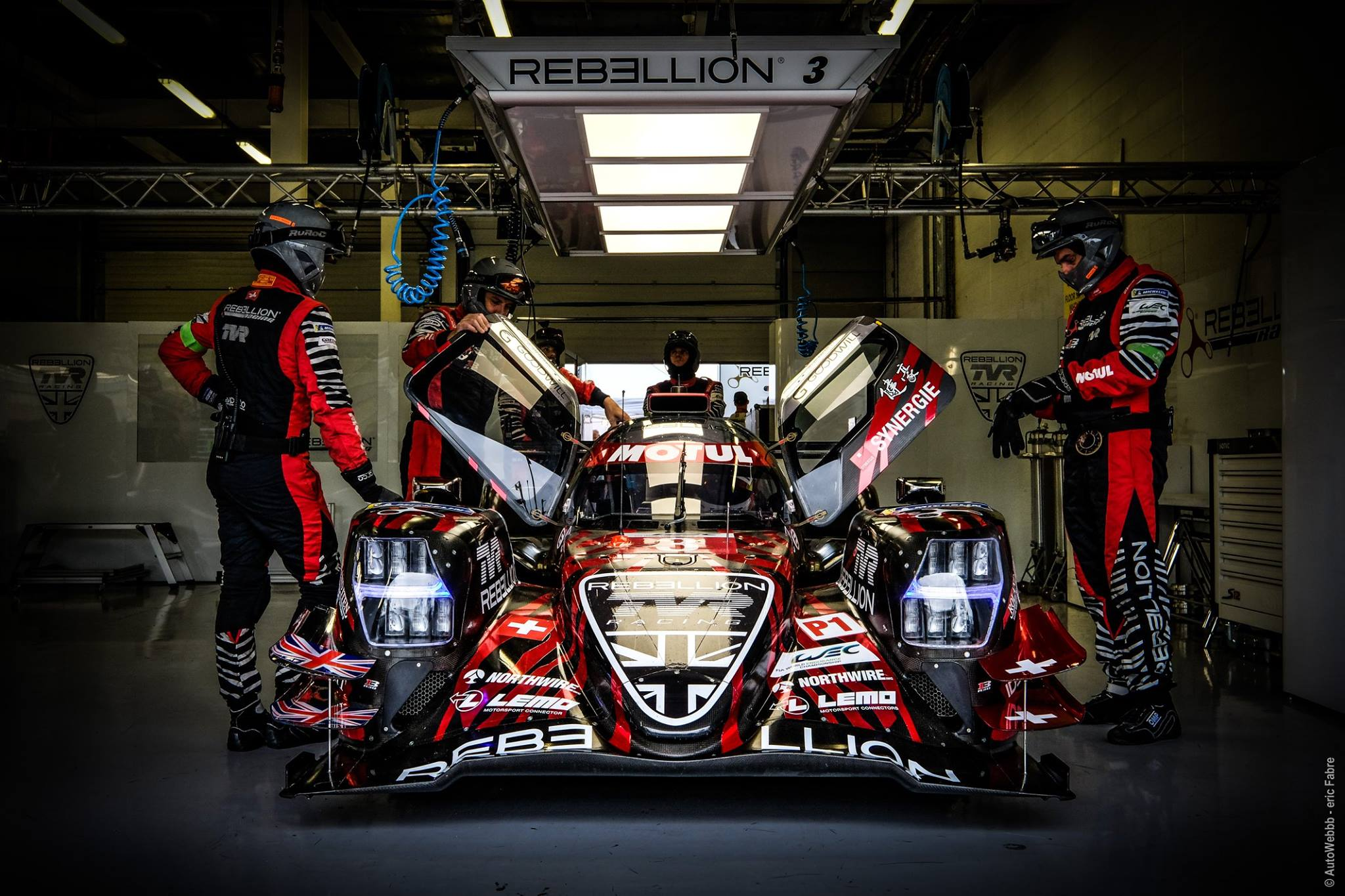Rebellion gets surprise win at Silverstone.