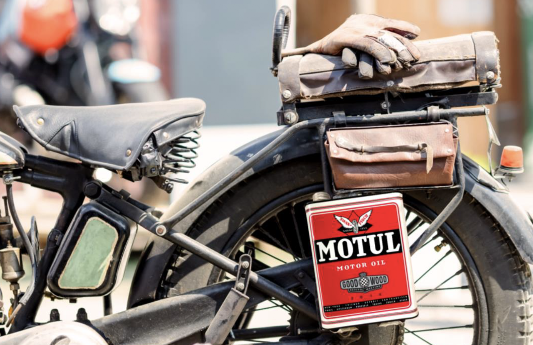 Special Limited Edition Motul can to be launched at Goodwood Revival