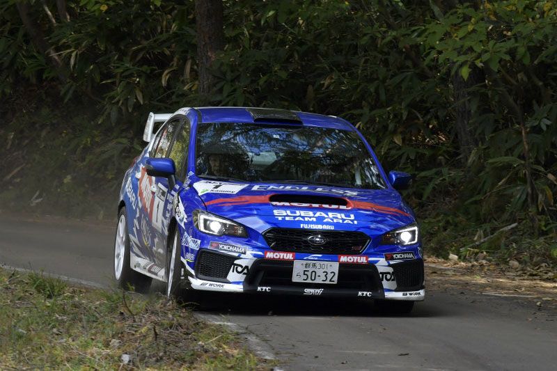 RALLY ACE TOSHI ARAI TAKES THE JRCA CHAMPIONSHIP WITH ONE RACE TO GO