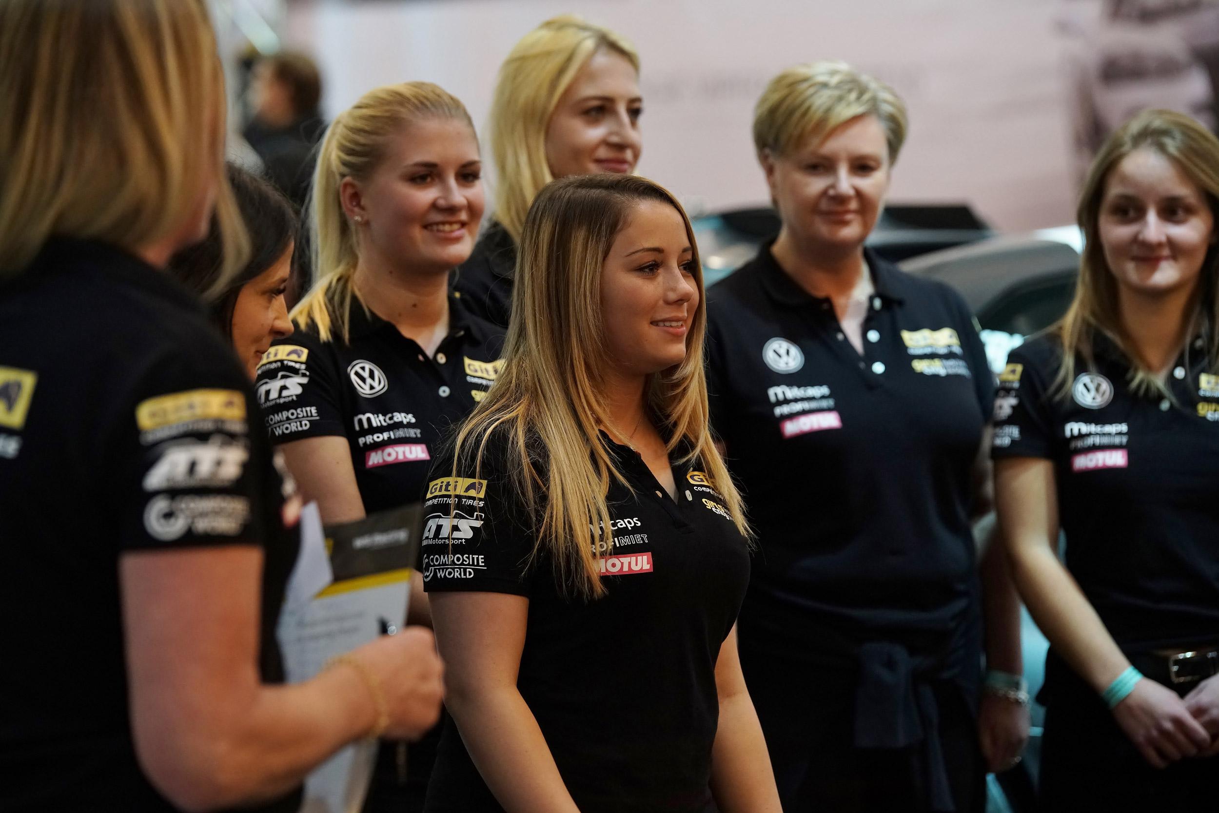 Teamvorstellung auf Essener Motor Show
