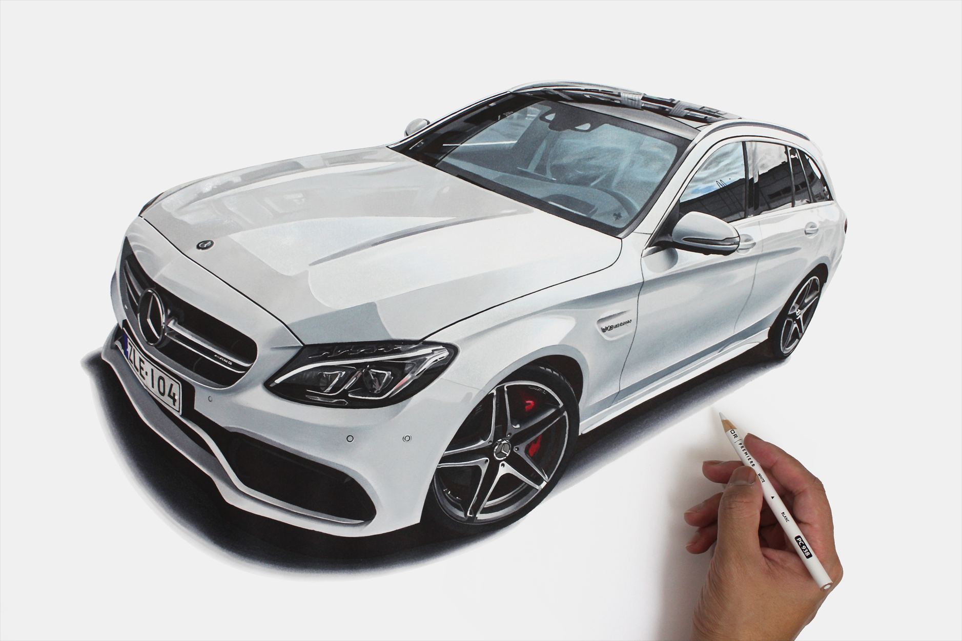 This kind of drawing and design talent hasn't grown overnight, what's your background story? ?
