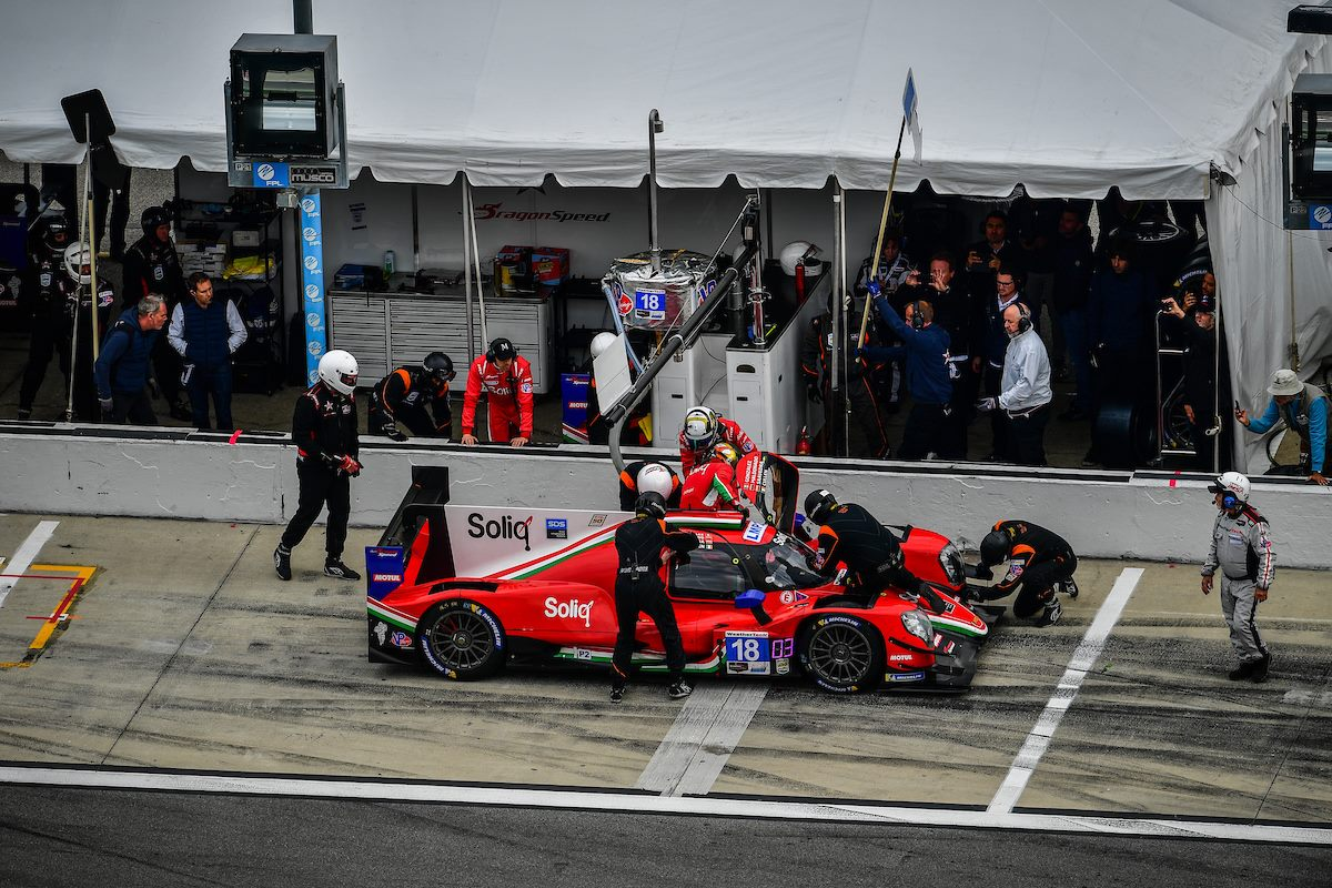 DRAGONSPEED WINS AT A SOAKED DAYTONA 24 HOURS