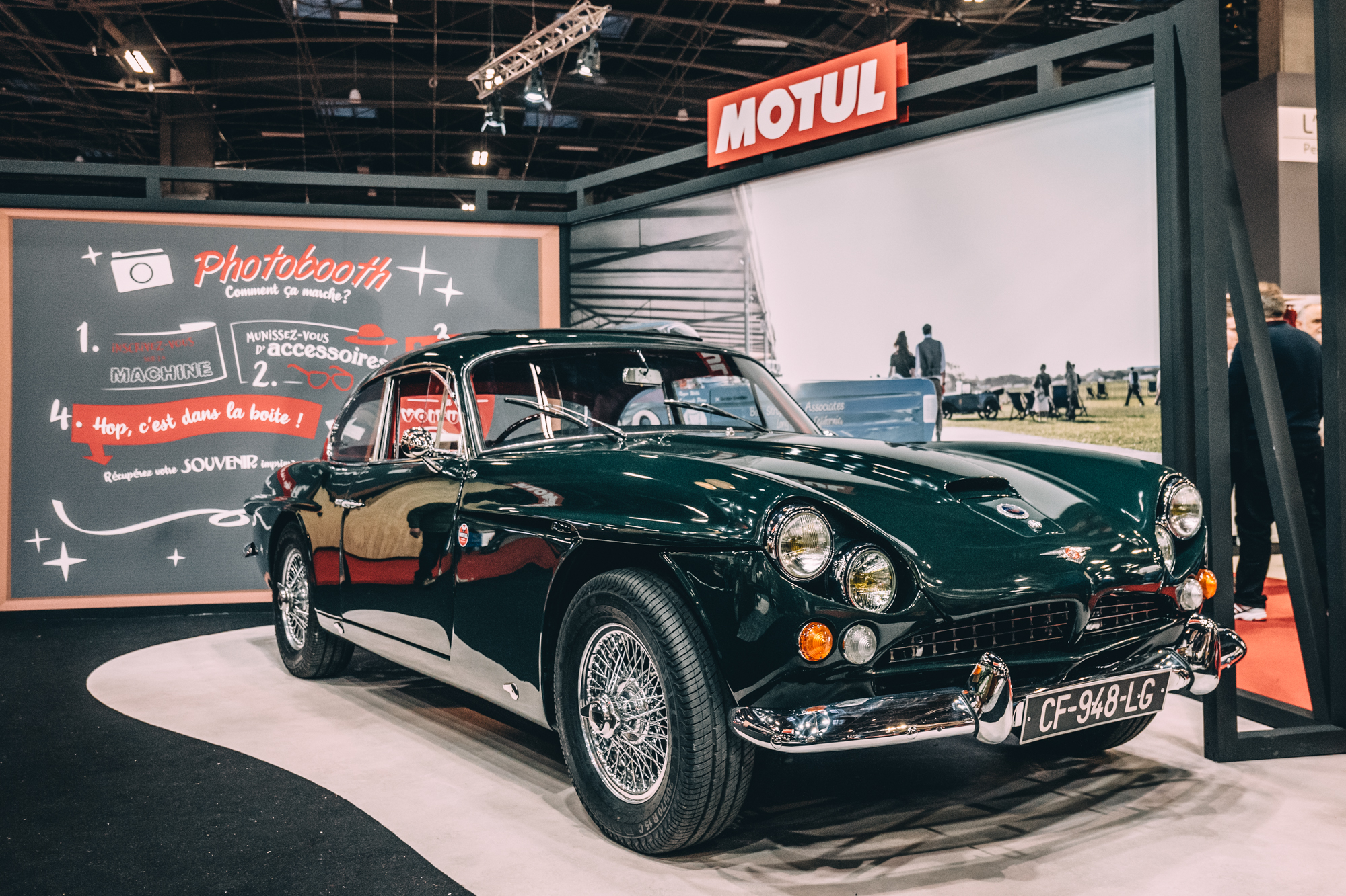 DISCOVER THE FIVE MECHANICAL WONDERS OF RÉTROMOBILE