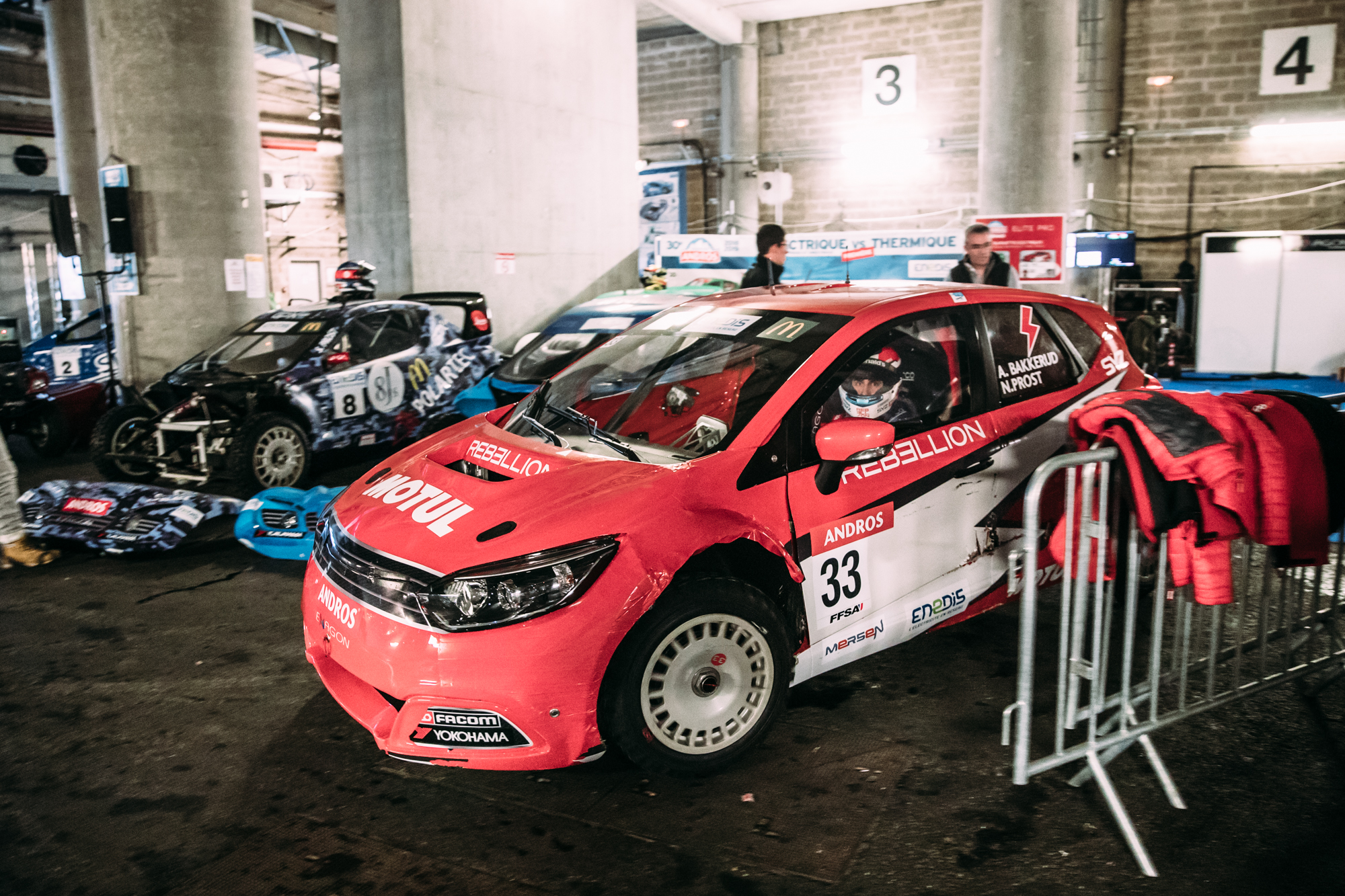 Andreas, coming from a rallycross background how does the Trophée Andros differ from Rallycross?