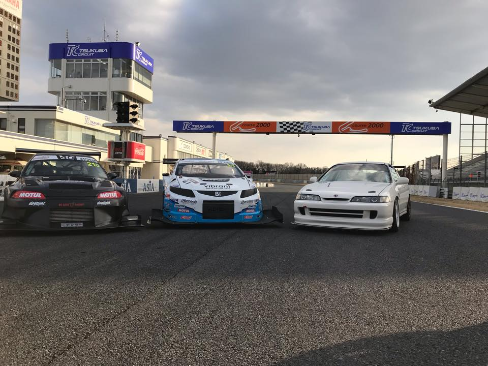 PZ Tuning's Will Au-Yeung beats the clock at the Global Time Attack in Tsukuba!