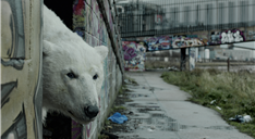 Greenpeace, A Homeless Polar Bear in London