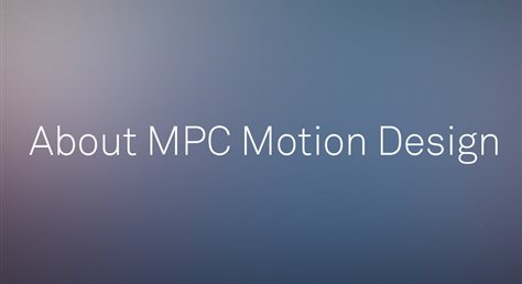 MPC Motion Design