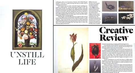 Unstill Life, Creative Review five page feature