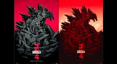 Godzilla teaser posters unleashed