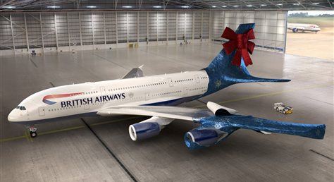 British Airways, Jumbo Christmas Giveaway