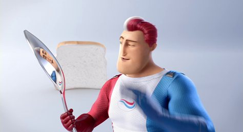 Aquafresh, Captain Aquafresh