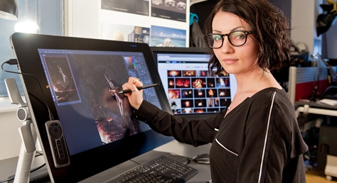 Nadia Mogilev reviews the Wacom Cintiq 27QHD