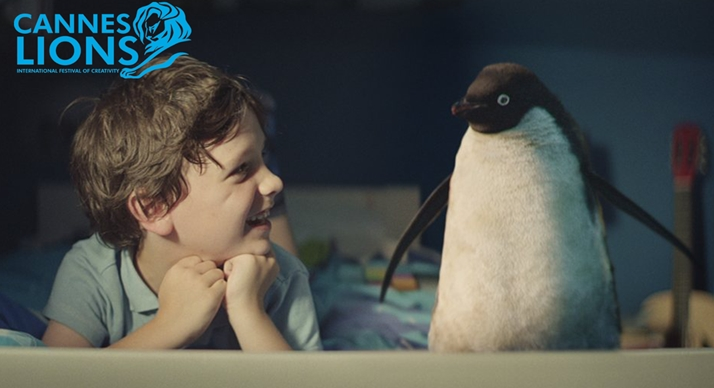 John Lewis 'Monty's Christmas' collects Grand Prix in Film Craft at Cannes and Gold in VFX