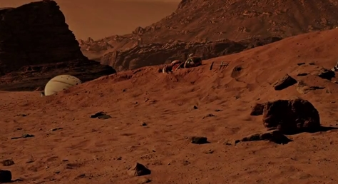 New trailer for The Martian