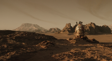 The Martian nominated for VFX BAFTA