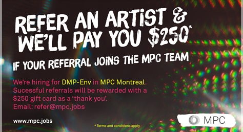 Refer a DMP-Env artist and we'll pay you $250
