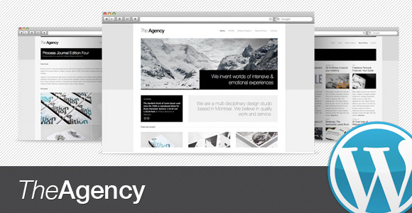 The Agency - Pour un site web de compagnie