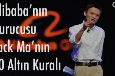 246 Milyar Dolarlık alibaba.com'dan Başarı İçin 10 Altın Kural