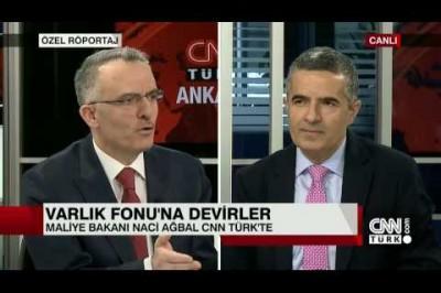 Maliye Bakanı Naci Ağbal İle Röportaj