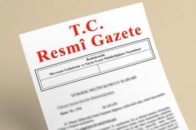 31 Mart 2017 Tarihli ve 30024 Sayılı Resmî Gazete