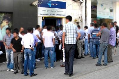 Türkiye'de İşsizlik Oranı Ve İşsiz Sayısı Açıklandı