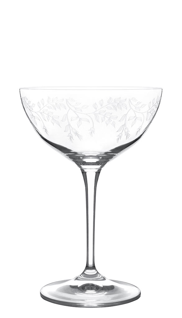 Bohemia Selection 6 Etched Champagne Coupe Glasses Duchess 21cl Muller Kitchen And Tableware