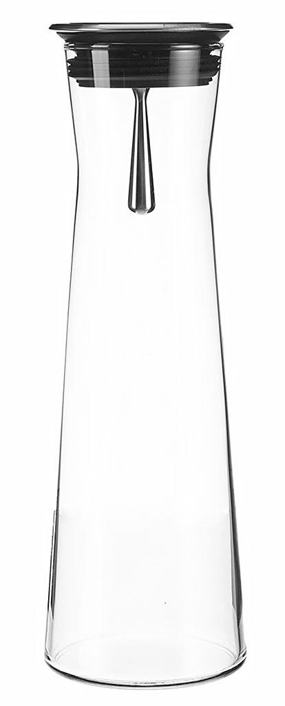 Simax karaf in hittebestendig glas met inox gietstop 1 1l for Hittebestendig glas