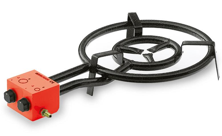 Lacor Enameled Steel Paella Gas Burner 50cm Muller