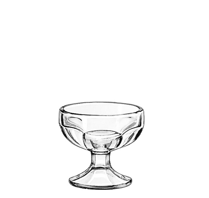 Libbey Fountainware 12 Ice Cream Mini Coupe Bowls Funchal 16cl