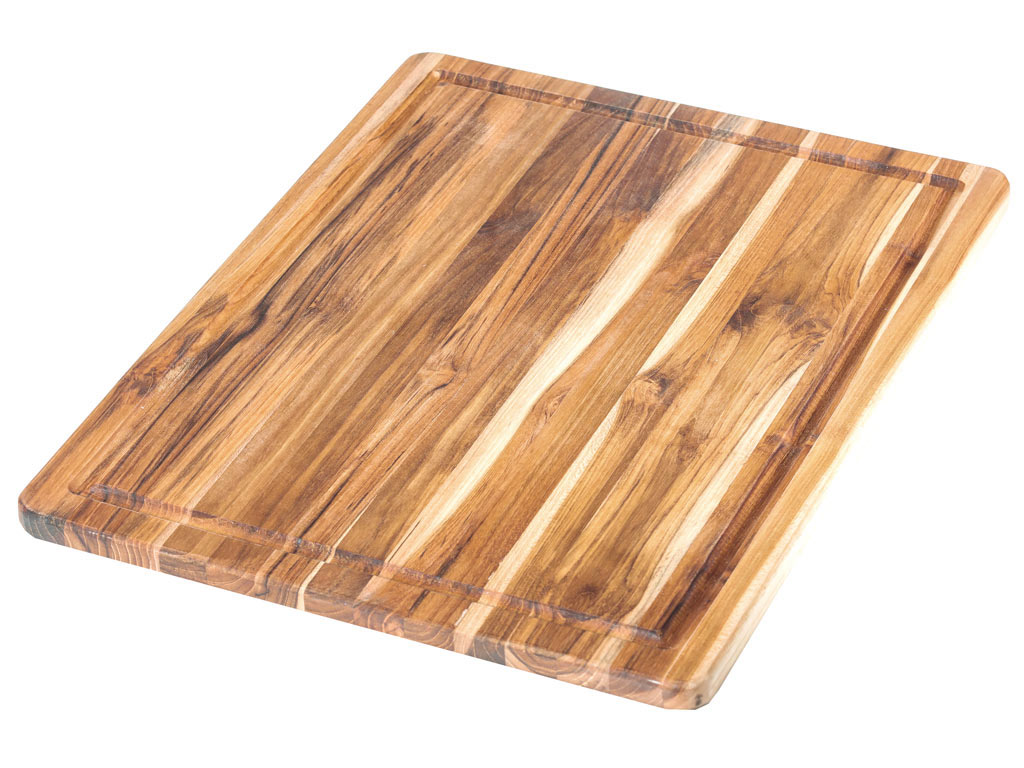 Teakhaus By Proteak Scandi Cutting Board With Juice Groove 45x35xh2 5cm Muller Kitchen And Tableware