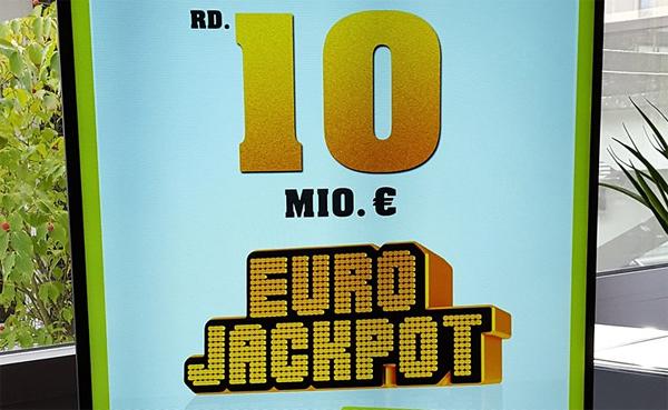 Eurojackpot produces a €10.000.000 winner